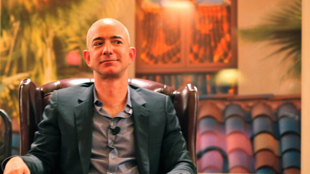 Jeff Bezos, fundador y CEO de Amazon.